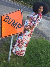 Dress compliments of PinkBlushMaternity.com